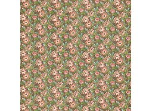 "Graphic 45 Designerpapier ""Botanical Tea - Field of Flowers"", 30,5 x 30,5cm"