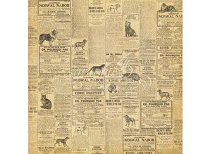 """Graphic 45 Designerpapier """"Raining Cats and Dogs - Cats Meow"""", 30,5 x 30,5cm"""