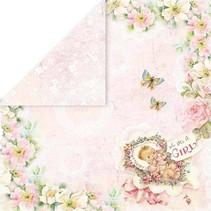 """Diseñador de papel """"Hello Baby"""", 30,5 x 30,5 cm"""