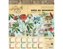 """Graphic 45 Diseñadores bloquean """"Tiempo Prospera - Calendario"""", 20 x 20 cm"""