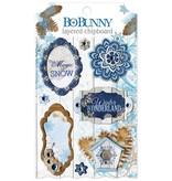 Bo Bunny Chipboards,  Powder Mountain