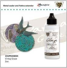 BASTELZUBEHÖR / CRAFT ACCESSORIES Vintaj Metal Glaze Sealer & patina Extender