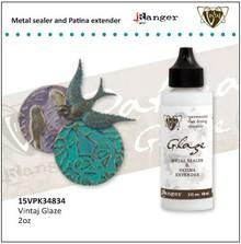 BASTELZUBEHÖR / CRAFT ACCESSORIES Vintaj Metal Glaze Sealer & patina Extender