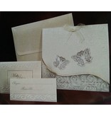 Exlusiv Bastelset: edele and filigräne butterfly cards