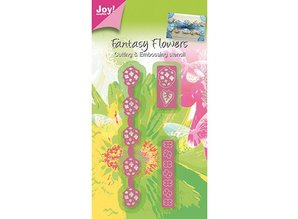 Joy!Crafts und JM Creation Stamping and embossing stencil, 3D Fantasy Border