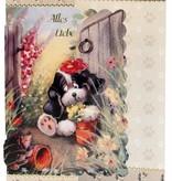 BASTELSETS / CRAFT KITS: Bastelset tænker på dig, hund motiver