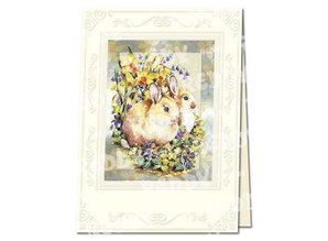 REDDY Bastelset Easter cards in metal engraving