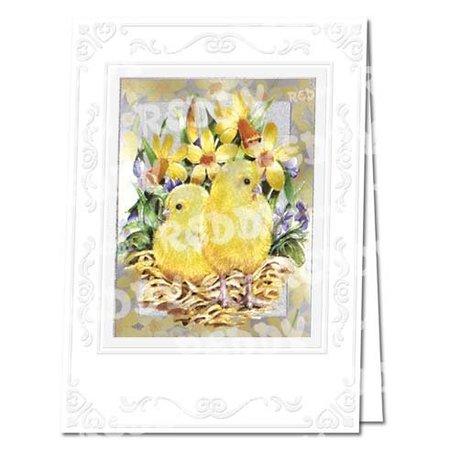 REDDY Bastelset Easter cards in metal engraving
