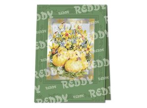 REDDY Carte Bastelset Pasqua a incisione in metallo