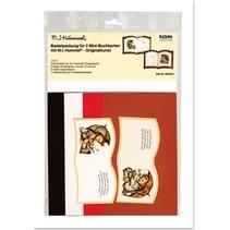 Original art MI Hummel Bastelset 2 mini book tickets