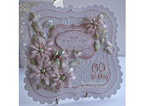 Creative Expressions Stampaggio e goffratura stencil, delicato margherite Blossoms