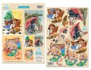BILDER / PICTURES: Studio Light, Staf Wesenbeek, Willem Haenraets Dufex-cut sheets: Gambling puppies