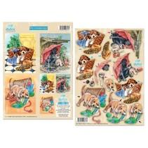 Dufex-cut sheets: Gambling puppies