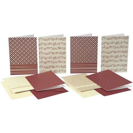 KARTEN und Zubehör / Cards Lista de postales con el sobre, tamaño tarjeta de 10,5x15 cm, 16