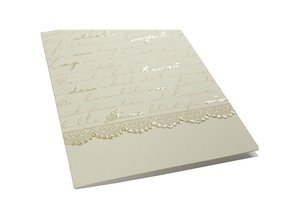KARTEN und Zubehör / Cards Liste kort med kuvert, kort størrelse 10,5x15 cm, 16