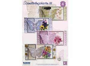 BASTELSETS / CRAFT KITS: Craft Kit Butterfly Greeting Cards