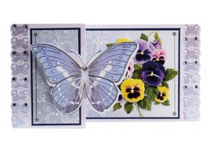 BASTELSETS / CRAFT KITS: Kit artísticas Tarjetas de felicitación de la mariposa