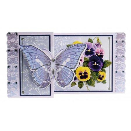 BASTELSETS / CRAFT KITS: Bastelset Schmetterlingskarten