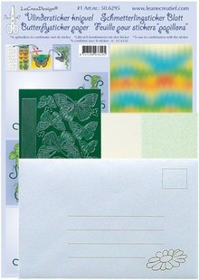 Sticker Farfalla Bastelpackung