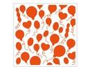 embossing Präge Folder 1 prægning mapper 12,3x12,3 cm ballon