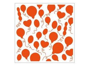 embossing Präge Folder 1 carpetas de estampado 12,3x12,3 cm en globo