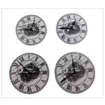 ScrapBerry s Set Of Clock, metal