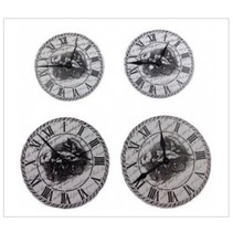 ScrapBerry's Set Of Clock, Metall