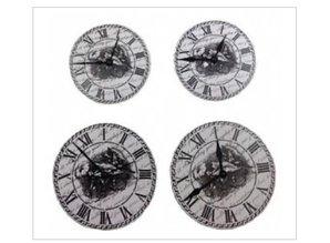 Embellishments / Verzierungen ScrapBerry s Set Of Clock