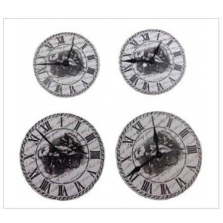 Embellishments / Verzierungen ScrapBerry's Set Of Clock