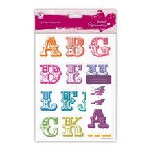 X-Cut / Docrafts Timbro con grandi lettere dalla A alla M