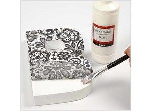 DESIGNER BLÖCKE  / DESIGNER PAPER Decoupage paper, assortment black and white, sheet 25x35 cm, 8 sort. Sheet, sheet 25x35 cm, 8 sort. Sheet