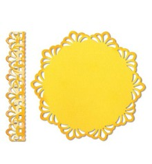 Sizzix ThinLits - Doily Doily & Border