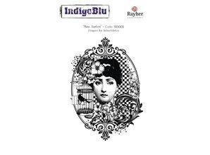 IndigoBlu Stempel A6: Miss Austen, 140x110mm