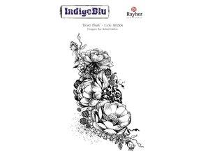 IndigoBlu A6 Sello: Rose Blush, 140x110mm