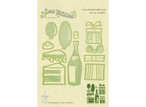 Leane Creatief - Lea'bilities Punching - and embossing stencil, Party