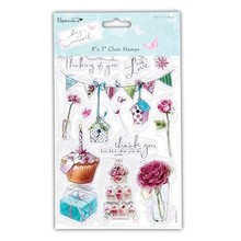 Stempel / Stamp: Transparent Timbri trasparenti, Lucy Cromwell - Bunting, 15 soggetti