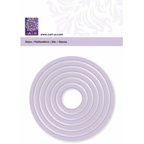Cutting template, round, 6 size