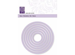 Cart-Us Cutting template, round, 6 size