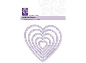 Cart-Us Plantilla de corte, corazón, tamaño 5