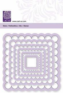 Cart-Us Modello di taglio, rettangolo dimensioni onda 6
