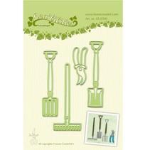 Leabilities, Stanz - und Prägeschablone, Garden Werkzeug