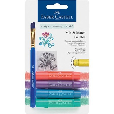 FARBE / INK / CHALKS ... Gelatos Kreider