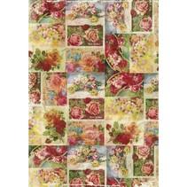 DecoMaché paper, 26x37,5cm, 27g / m2, 3Bogen