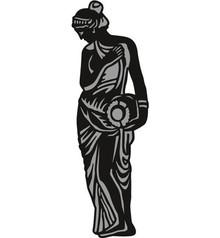 Marianne Design Skæring og prægning stencils Marianne Design Craftables - Have Statue