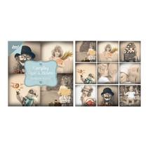 Paper bloc, 10x10cm - Everyday - Paper & Pictures