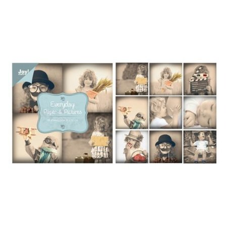 Joy!Crafts und JM Creation Paper bloc, 10x10cm - Everyday - Papir & Billeder