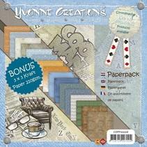 Yvonne Creations - Mannen - Papier blok