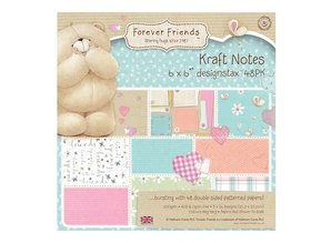 Forever Friends Forever Friends, pad of paper, 15.5 x 15.5 cm, Notes force