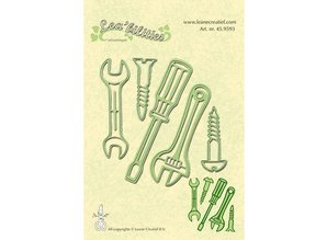 Leane Creatief - Lea'bilities Leabilities, stamping - and embossing stencil tool