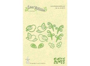 Leane Creatief - Lea'bilities Leabilities, estampación - y plantilla de estampado aves llittle